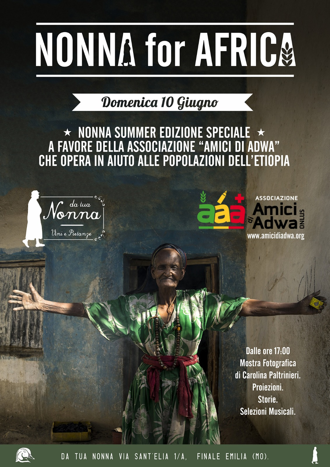 Nonna for Africa 10 06 2018
