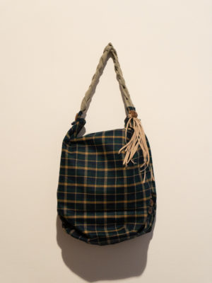 borsa scozzese verde